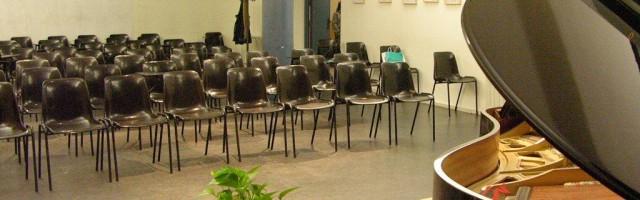 Salón de actos de la Escuela de Música CEDAM