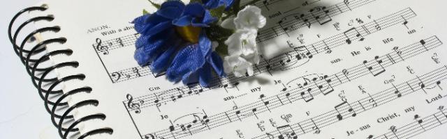 imagen de partitura para coro infantil