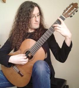 Francisco José Gil, profesor de guitarra en el curso de verano cuerdas al aire