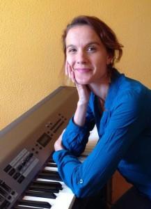 Silvia Raposo, profesora de improvisación vocal en el curso de verano cuerdas al aire